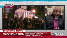 """Episcopal bishop cites Christian gospel in criticism of Trump who stood in front of a Church with Bible in hand all as props for his """"photo op"""" is an absolute DISGRACE especially as the protesters were being  pummeled by the US Police & Military ! Typical spineless Trump shielded by the uniformed thugs under his orders showed NO DECENCY,HONESTY OR CLASS. Trump has sunk into the moral depths as the moronic bastard he is ! The US is in its death throes unless profound change occurs NOW !!!!"""