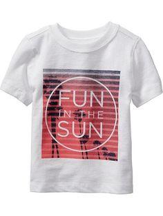 """""""Fun in the Sun"""" Tee for Baby"""