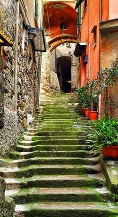 Manarola, La Spezia, Italy