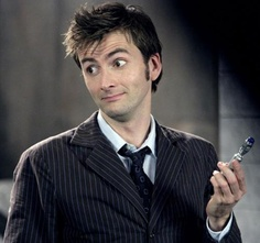 #FavoriteDoctor David Tennant, the Tenth Incarnation.  I loved Nine a lot, and Eleven is... Ten ultimately is my favorite. #Day01 #DoctorWhoChallenge