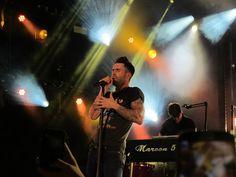 audreyarchives: Adam Levine // Maroon 5 concert