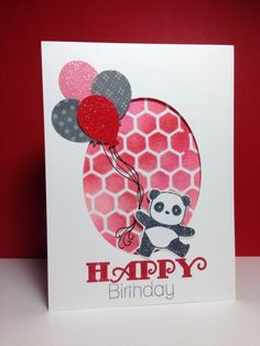 Pandamonium, by beesmom - Cards and Paper Crafts at Splitcoaststampers