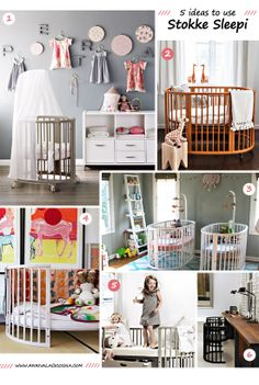 Five nursery inspiration ideas featuring the Stokke Sleepi Crib
