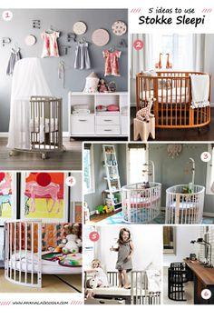 Five nursery inspiration ideas featuring the Stokke Sleepi Crib