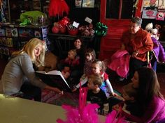 The author is reading The Pillow Fairy, right before the kids get their fairy wings. Children's Picture Books, Fairy Wings, Author, Pillows, Reading, Kids, Pictures, Children, Photos
