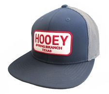 HOOey Patch Hat Spring Branch Texas 1708T-BLNA