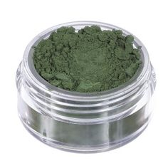 "Neve Cometics #Ombretto #Minerale ""Jazz"" (Verde bottiglia intenso opaco).  #mineral #makeup #eyeshadow #vegan"
