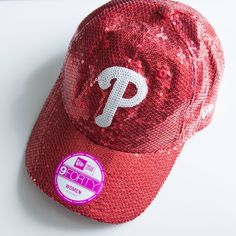 Sequin baseball hat  Perfect for beach season. Collaboration between Victoria's Secret PINK and New Era rare baseball cap. Excellent used condition, practically new. Super cute and girly. Adjustable back. PINK Victoria's Secret Accessories Hats