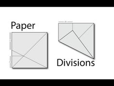 Tadashi Mori Paper Divisions (fifths, thirds, sevenths, etc. Origami And Math, Origami 101, Basic Origami, Origami Templates, Origami And Kirigami, Quilling Paper Craft, Paper Crafts Origami, Useful Origami, Box Templates