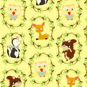 storybook forest by heidikenney, click to purchase fabric