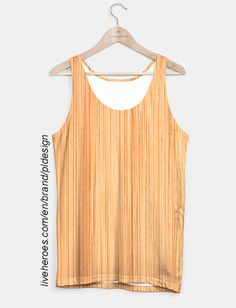 Cool Bamboo wood print Tank Top by #PLdesign #cool #wood #bamboo #liveheroes