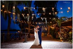 Paradise Cove bride and groom portrait | Sivan Photography | Orlando Wedding Photographer | Paradise Cove Wedding