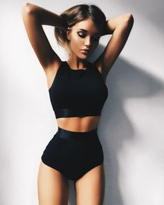 Photo Body Goals Photophoto - Photo Body Goals Photophoto Source by - Body Inspiration, Fitness Inspiration, Mode Outfits, Fashion Outfits, Fashion Tips, Mode Ootd, Jolie Lingerie, Look Girl, Cute Bathing Suits