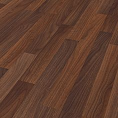 LOGOCLIC Family Laminat Nussbaum Torent (1.285 mm x 192 mm x 7 mm) Bauhaus, Hardwood Floors, Flooring, Home And Garden, Wood Floor Tiles, Wood Flooring, Floor