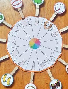 Montessori Preschool, Preschool Writing, Kindergarten Learning, Life Skills Activities, Toddler Learning Activities, Sensory Activities, Autism Education, Preschool Colors, Classroom Labels