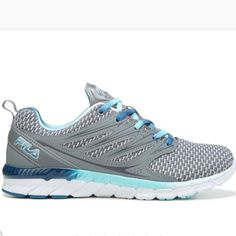 f21a2cd6b8e7db Fila Women s Matador Plus Running Shoes (Grey Mint)