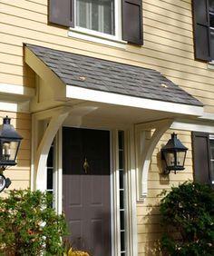 Gentil 40 Lovely Door Overhang Designs | For The Home | Pinterest | Doors, Porch  And Front Doors