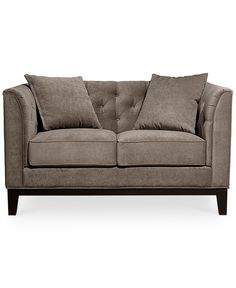 Giselle Fabric Loveseat - Couches & Sofas - Furniture - Macy's