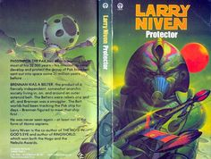 PETER ANDREW JONES - art for Protector by Larry Niven - 1979 Orbit Books