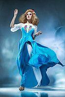 """Вечірня сукня з вишивкою """"КОРОЛЕВА ПОВІТРЯ"""" 8006_Королева ВОЗДУХ"""