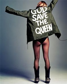 Kate Moss. God save the Queen.