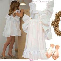 NO SIN VALENTINA SS14. Fashion Kids, Little Girl Fashion, Toddler Fashion, Look Fashion, Little Girl Dresses, Girls Dresses, Flower Girl Dresses, Toddler Dress, Baby Dress