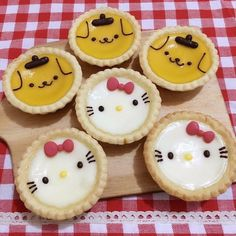 Cute Snacks, Cute Desserts, Cute Food, Doraemon Cake, Cute Bakery, Kawaii Dessert, Egg Tart, Mini Tart, Edible Food
