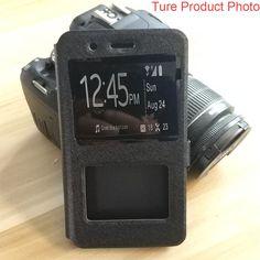 REDTREE Silk Pattern Case for Xiaomi Mi a1 Mi5X View Window Flip Cover Smartphone Leather Case. Click visit to buy #FlipCase #case