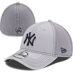 3c39084bd1003 New York Yankees New Era Double Mesh 39THIRTY Flex Hat - Navy -  27.99. See  more. Made By New Era Let everyone know you are a die-hard Yankees fan by