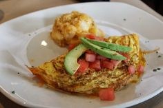 The Simple Treat | California omelet with applewood bacon, avocado, tomato, and cheese.