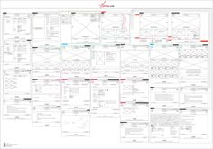 Wireframing GStrings Ecommerce Web Design