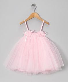 Light Pink Ashley Dress - Toddler & Girls