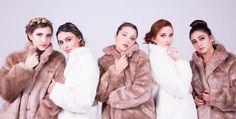Resultado de imagen para ventino Crushes, Fur Coat, Jackets, Group, Iphone, Music, Fashion, Female Power, Singers