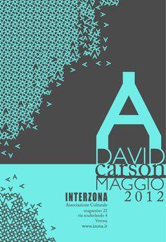 Retrospettiva su David Carson - Michela Scaglia