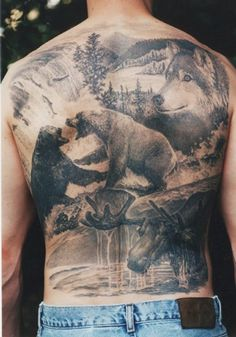 Wow! That is sick! Awesome tattoo