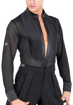 DSI Andre Mens Latin Shirt 4023 | Dancesport Fashion @ DanceShopper.com