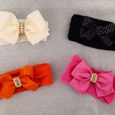 Faixas lindas para as meninas.Beautiful hair accessory for little girls