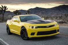 2014 Chevrolet Camaro with available 1LE Package