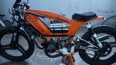 103 Boukhtoukal Juice, moped chow art et mécanique