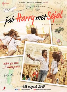 Shah Rukh Khan defends the title of his next film with Imtiaz Ali, Jab Harry Met Sejal and we could not agree more. - Shah Rukh Khan defends the title of his next, Jab Harry Met Sejal Srk Movies, Hindi Movies, Good Movies, 2017 Movies, Bollywood Movies 2017, Bollywood Posters, Bollywood Memes, Bollywood Couples, New Movie Song
