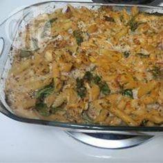 Makkelijke pasta pesto met kip uit de oven @ allrecipes.nl
