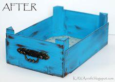 KAVA Craft: Upcycled Mandarin Box