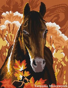 Cross stitch pattern Black prince от TatyanaStitch на Etsy