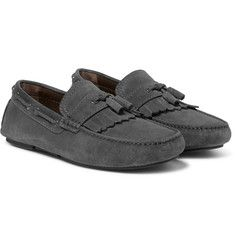 Brioni - Tasselled Suede Driving Shoes
