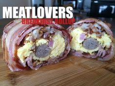This Meat-Lovers Breakfast Burrito Ditches the Tortilla for Bacon