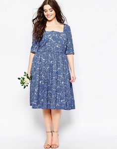 ASOS Curve | ASOS CURVE WEDDING Prom Dress In Lace
