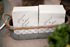 Personalized-Napkins | photography by http://ameliastrauss.com/