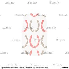 Equestrian Themed Horse Shoes Pattern Minx Nail Wraps
