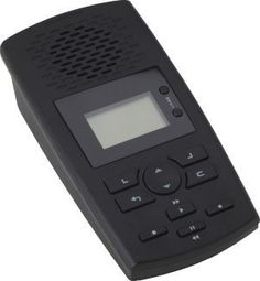 SD Digital Phone Call Recorder Landline Recording Device (Stand Alone Desktop Digital Phone Recorder that Stores Voice and Call Data to included 2GB SD Card)