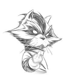 Rocket Raccoon by Joe Quesada *